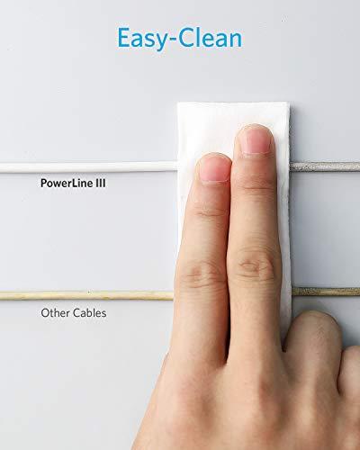 Anker Powerline III USB-C auf Lightning Kabel,MFi-zertifiziertes Kabel 30cm,blitzschnelle Ladegeschwindigkeiten für iPhone SE/11/11 Pro/X/XS/XR Max/8 Plus/AirPods Pro,unterstützt Power Delivery,Weiß