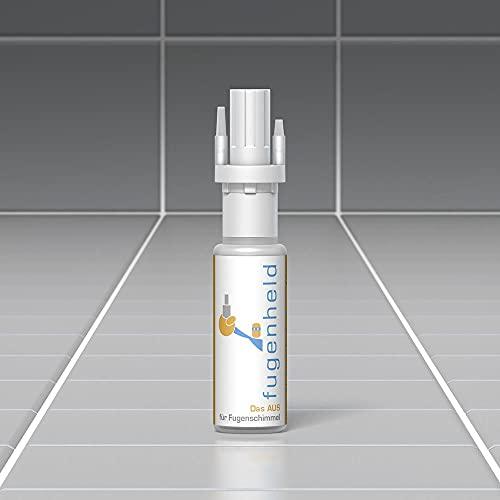 Fugenstift weiß, Fugenweiß von fugenheld, Anti-Schimmel Fugenfarbe, extra gut abdeckende Farbe, schimmelresistent / 1 x 11,5ml (Weiß)