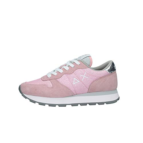 sneakers donna sun68 Sun 68 Sneakers Donna Modello Ally Thin Glitter Colore Rosa (Numeric_38)