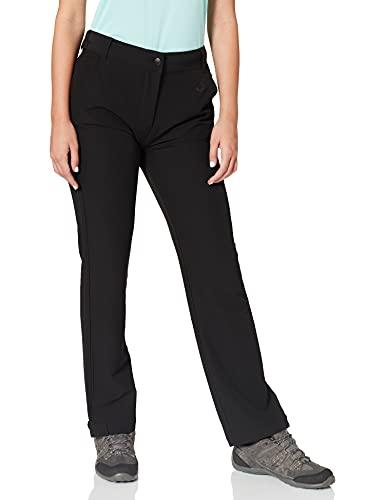 Gregster Damen Wanderhose lang softshell warm elastische Outdoorhose Trekkinghose atmungsaktiv