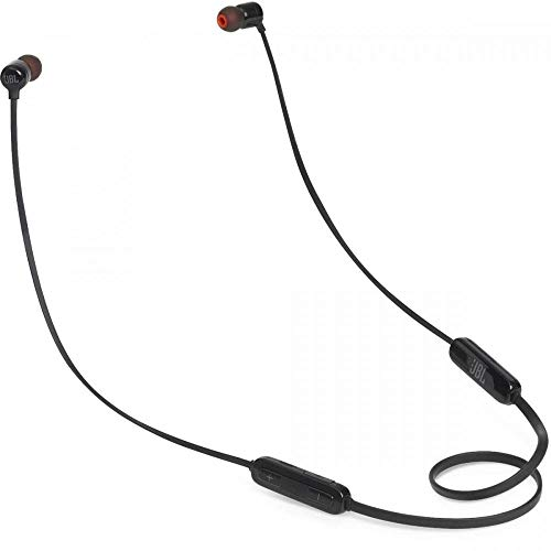JBL T**BT Pure Bass Wireless in-Ear Headphones with Mic (Black)