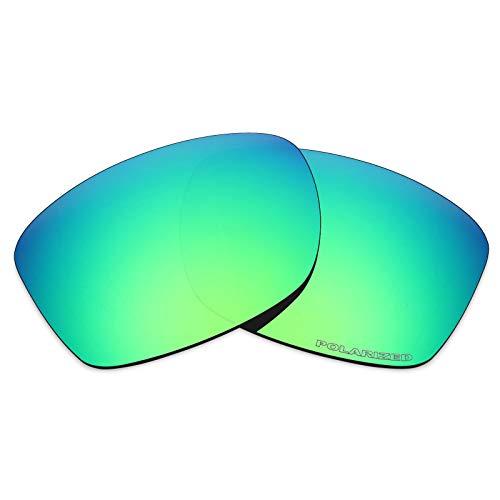 Lenti di ricambio Mryok per Oakley Jupiter Squared OO9135 - Opzioni Anti-corrosione dell'acqua marina – verde smeraldo Taglia unica