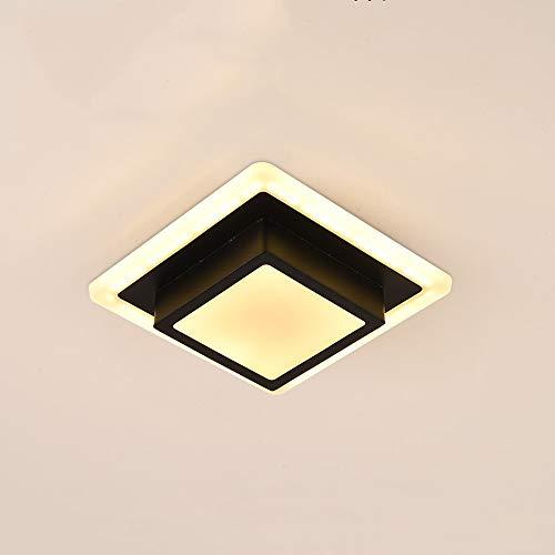 GLBS 12W/24W Creatividad Cuadrado LED Downlight Pasillo Pasillo De Entrada De La Sala Dormitorio De Techo Panel De Hierro Luz Acrílico Inicio Comercial Iluminación Empotrada