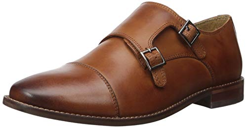 Leather Monk Strap Shoes for Men