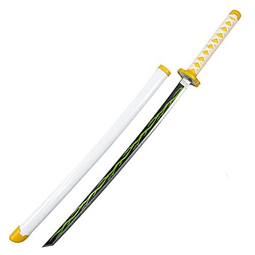 Demon Slayer Blade COS Espada De Madera Kamado Tanjirou Prop Modelo De Arma, para Amantes del Anime, Juguetes De Utilería para Cosplay, Juguetes Decorativos De Armas De Demon Slayer Blade