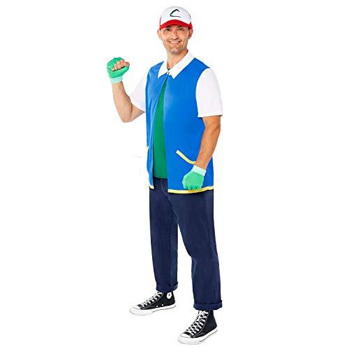 amscan Disfraces para Adulto, Azul, L para Hombre