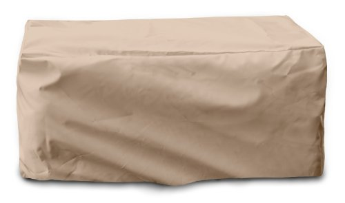 KOVERROOS Weathermax 44215 Coussin Coffre de Rangement Housse, 137,2 cm de Long, 83,8 cm de Large, 71,1 cm de Haut, Toast