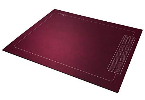 Tapis Belote - Bordeaux - Points - 60x40cm - Fabrication Française