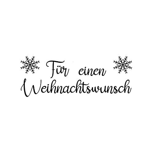 Timbro con scritta in lingua tedesca 'Ein Weihnachten' (lingua italiana non garantita)