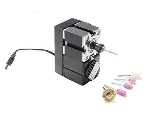 LIANGANAN Mini portátil de la máquina de Bricolaje a Mano Torno portátil Mini Máquina 24W 20000rmp Máquina Mano for la Educación