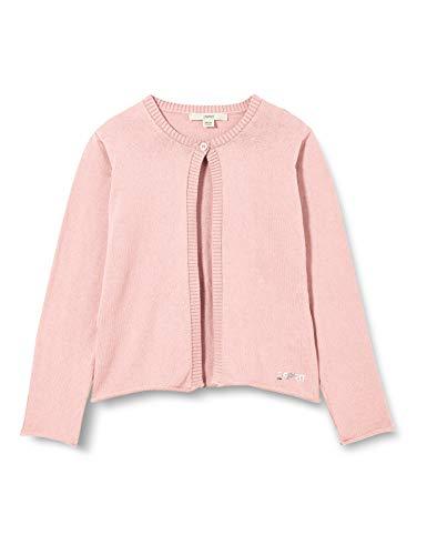 ESPRIT Girl's Strickjacke Cardigan Sweater, Light Pink | Rose, 128/134