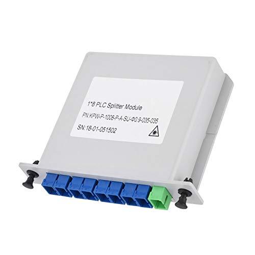 Kafuty 1 x 8 Tarjeta de Cassette de ramificación de Fibra Inserción del Divisor del PLC Equipo de Fibra óptica Divisor del PLC