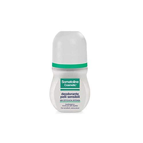 Somatoline Cosmetic Desodorante para pieles sensibles Rollon, 50 ml