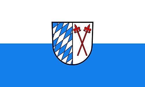 Unbekannt magFlags Tisch-Fahne/Tisch-Flagge: Eschelbronn 15x25cm inkl. Tisch-Ständer