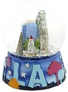 Topline Los Angeles California Snow Globe 65mm in Color- LA Snow Globe
