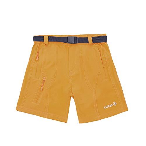IZAS Himalaya Kids Short garçon Mixte Enfant, Orange Clair, FR : L (Taille Fabricant : 10)