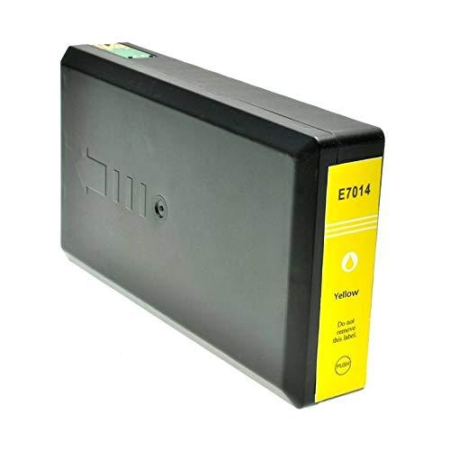 T7014 Cartuccia compatibile Giallo per Epson Workforce Pro WP-4015 4025 4095 4515 4525 4535 4545 4595