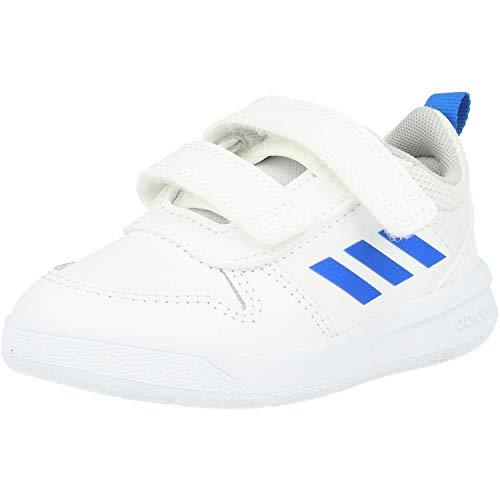 Adidas Tensaur I, Zapatillas de Estar por casa, Blanco (Ftwbla/Azul/Ftwbla 000), 27 EU