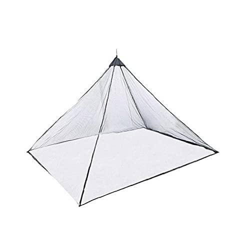 VusiElag Tenda per Zanzariera Portatile Leggero Leggero Mosquito Rete per La Montagna Camping Travel Black