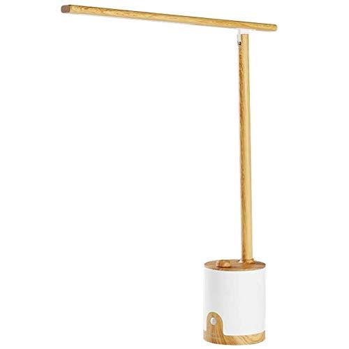 QXinjinxtd Lámparas para habitaciones De intensidad regulable plegable lámpara de mesa - puerto de carga USB, recargable, sensor infrarrojo Interruptor de luz, Perilla Sin Escala de atenuación, LED de
