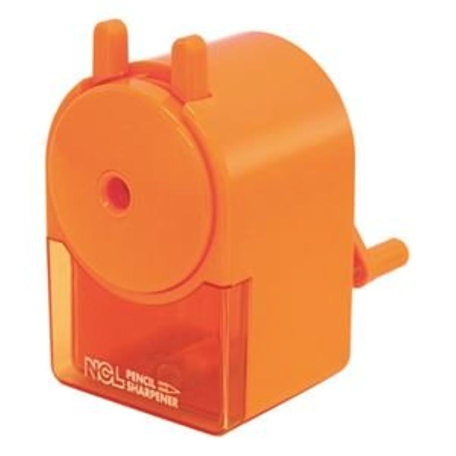 いう魔女冗長(業務用セット) 手動鉛筆削りき キッズオレンジ DPS-H101KO【×10セット】