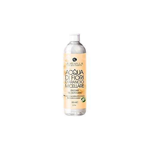 Alkemilla Nettoyant tonique visage eau de fleurs d'orange Micellaire - 500 ml