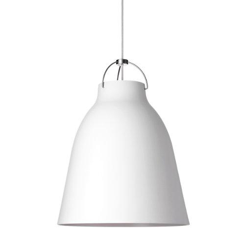 Lightyears Shapes - Pendelleuchte - Caravaggio P2, weiß mit weißem Kabel - Ø257mm- E27