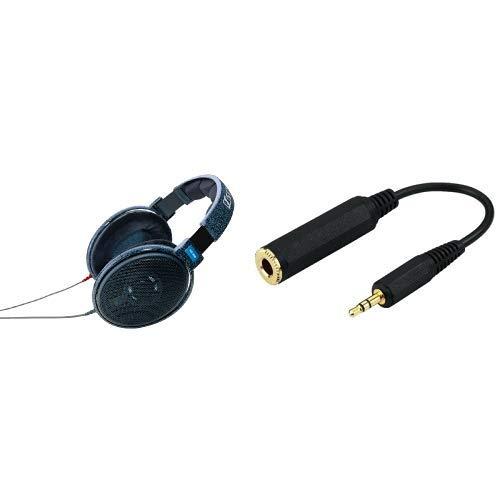 Sennheiser HD600 Cuffia Stereofonica Hi-End Dinamica Aperta, Connettore da 6,3 mm, Blu