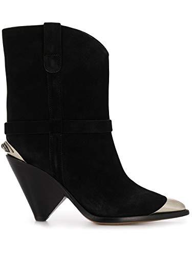 Luxury Fashion   Isabel Marant Dames BO019420P009S01BK Zwart Suôde Enkellaarzen   Lente-zomer 20