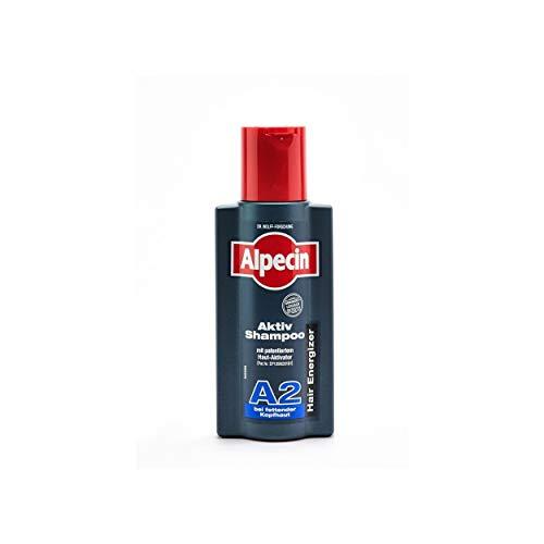 Alpecin Aktiv Shampoo A2 gegen fettende Kopfhaut 2 x 250ml