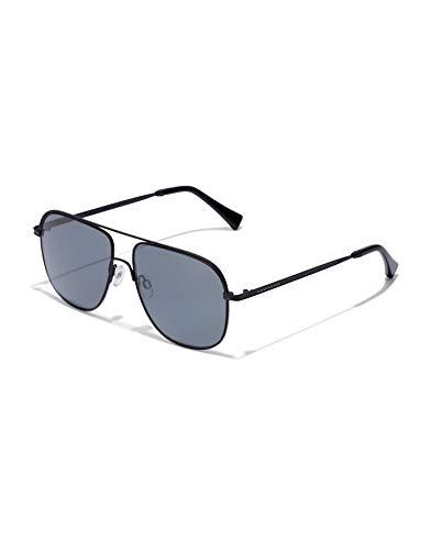 HAWKERS Black Dark TEARDROP sunglasses, TR18 UV400 Gafas, 55 Unisex adulto