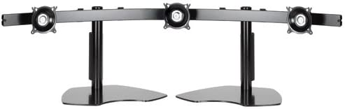 Chief Mfg. Widescreen Monitor Triple Horizontal Table Stand - Black