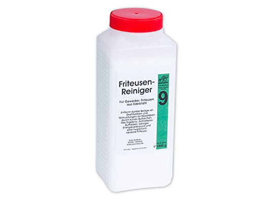 Assindia Friteusen-Reiniger Granulat Fritteusenreiniger Pulver 1kg Dose Vorratspackung