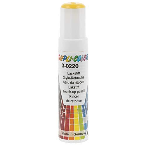 Dupli-Color 716249 Lackstift Auto-Color gelb 3-0220 12ml, Yellow