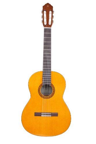 Yamaha CS40II Guitarra Cadete – Guitarra Clásica 3/4, 580 mm, 22 13/16', óptima para jóvenes alumnos, 6 cuerdas de nylon, color Natural