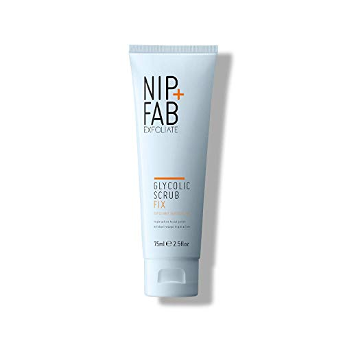 Nip+Fab Glycolic Fix Scrub, 1er Pack (1 x 75 ml)