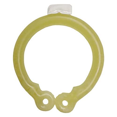 Sharplace Tubo de enfriamiento para el Cuello, Envoltorios de enfriamiento para el Cuello para el Calor del Verano, Bolsa de Hielo de Gel frío, Enfriador de - Amarillo