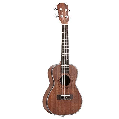23 Zoll Konzert Ukulele 4 String Hawaiianische Mini Guitar Uku Kaffee Akustikgitarre Mahagoni-Palisander