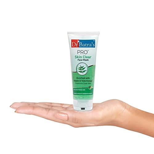 Dr Batra's PRO+ Skin Clear Face Wash – 100gm