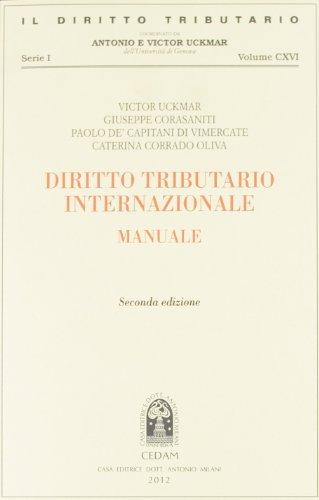 Diritto tributario internazionale. Manuale