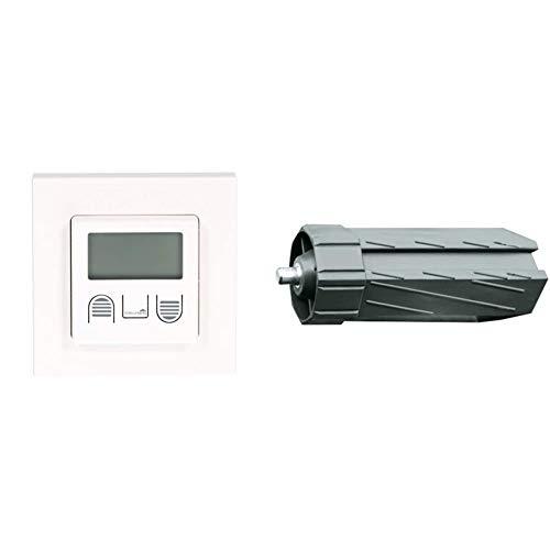 Schellenberg 25571 Zeitschaltuhr Standard zur Rollladensteuerung von Rohrmotoren Standard und Plus & 80100 Walzenhülse Maxi für Achtwellen mit 60 mm Durchmesser, Länge 150 mm
