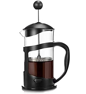 French Press Coffee Maker, Quality Large Tea Maker, Perfect for Morning Coffee, Maximum Flavor Coffee Brewer with Stainless Steel Filter, 34 oz/1000 ML-Black