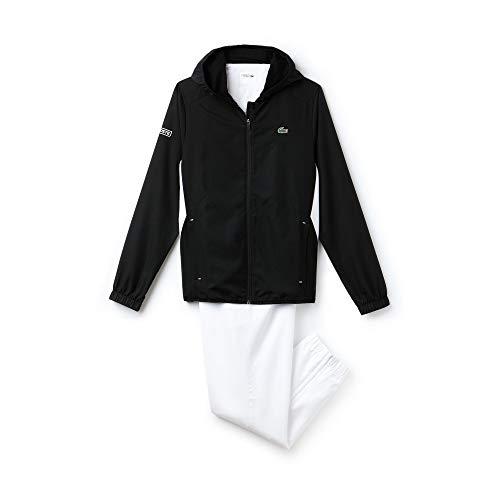Lacoste Sport WH9511 Ensemble de Sport, (Noir/Blanc-Papeete EPL), X-Large (Taille Fabricant: 6) Homme