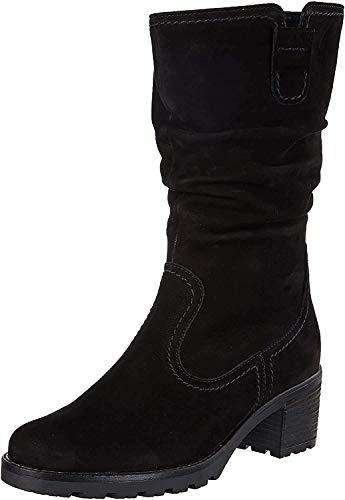 Gabor Shoes Comfort Sport, Damen Kurzschaft Stiefel, Schwarz (47 schwarz (Mel.)), 40.5 EU (7 UK)