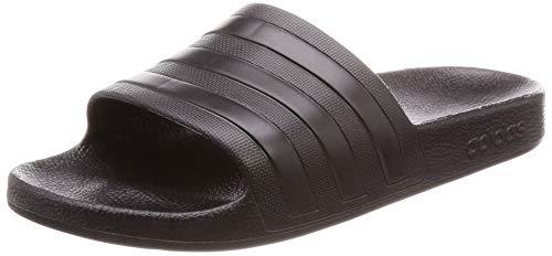 Adidas Adilette Aqua, Zapatos de Playa y Piscina Unisex Adulto, Negro (Black F35550), 42 EU