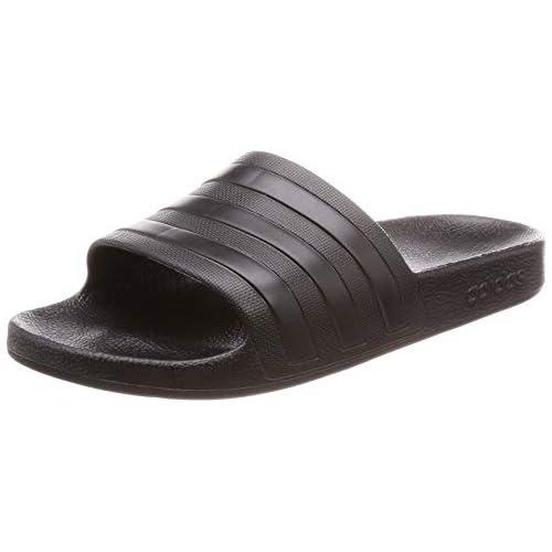adidas Adilette Aqua, Scarpe da Spiaggia e Piscina Uomo, Nero (Black F35550), 43 EU