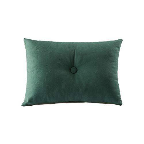 NYKK Almohada Almohada de Viaje Almohada Lumbar 51 * 37cm del sofá de la Almohada Lumbar de la Lona de algodón del Amortiguador Multifuncional Almohada de Viaje Almohada Cervical
