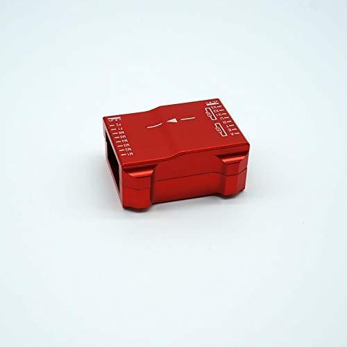 Durevole for Drone Fai-da-Te per for DJI for Naza V2 Controller di Volo for Naza M Lite Box Metal for CNC Shell Shell Quadcopters Accessori (Colore: Rosso) .Parti UAV. ( Color : Red )