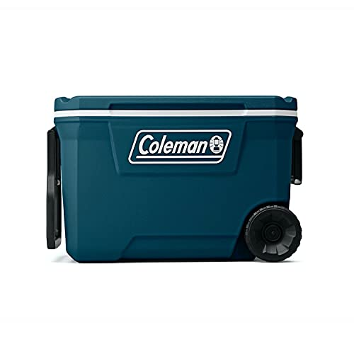 Coleman Ice Chest | 316 Series 62 Quart Wheeled Cooler, Space