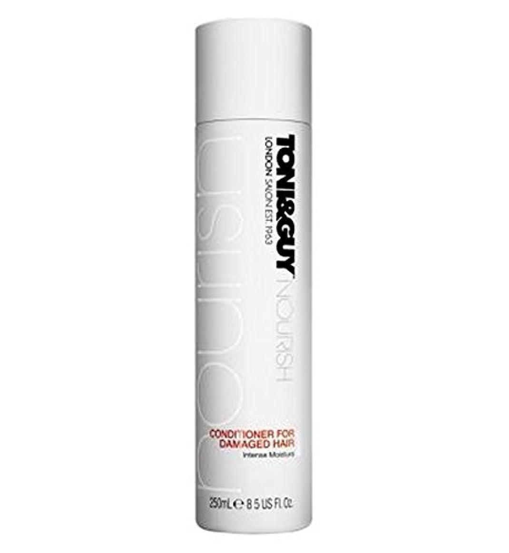 ばかげている呼吸するチャンスToni&Guy Nourish Conditioner for Damaged Hair 250ml - トニ&男は傷んだ髪の250ミリリットルのためにコンディショナーを養います (Toni & Guy) [並行輸入品]